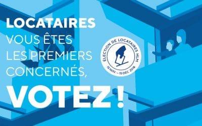 Elections des représentants des Locataires