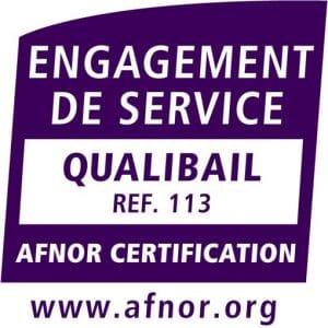 logo certification qualibail engagement de service