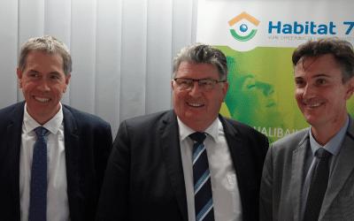Olivier Rosat, nouveau Directeur général d'Habitat 70