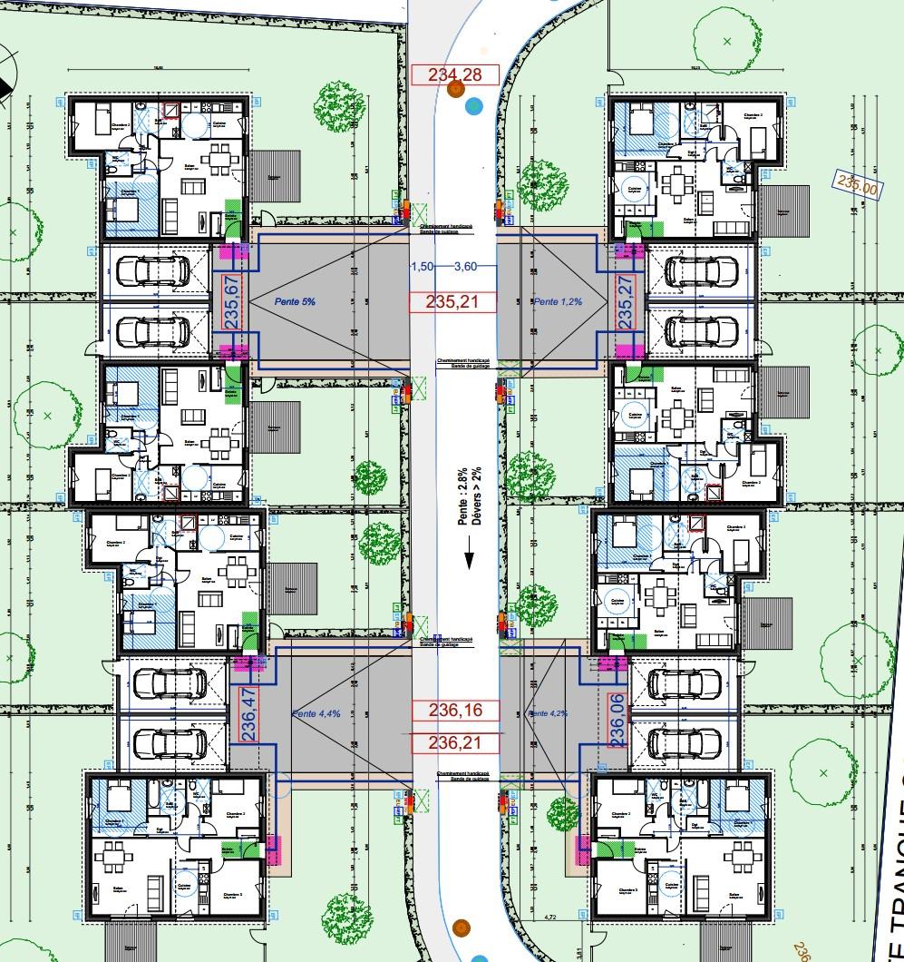 plan 8 logements Port-sur-Saône