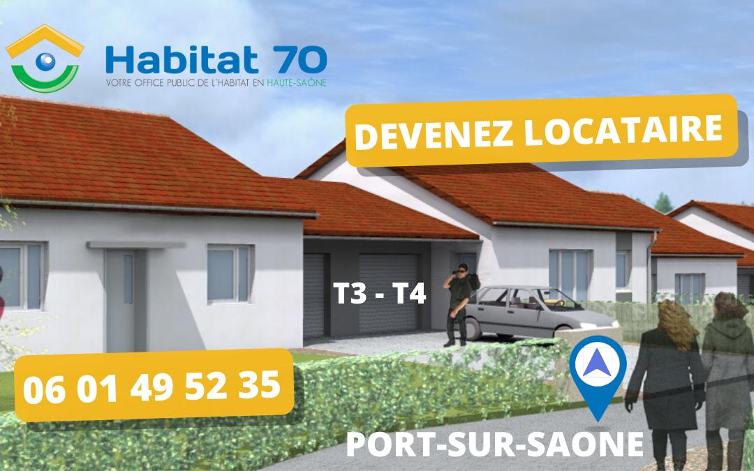 Mise en service logements BBC à Port-sur-Saône