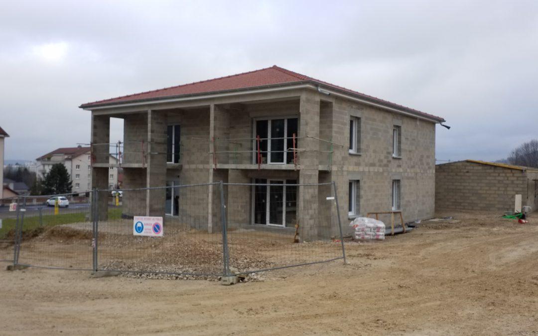 Echenoz-la-Méline : 12 appartements fin 2021