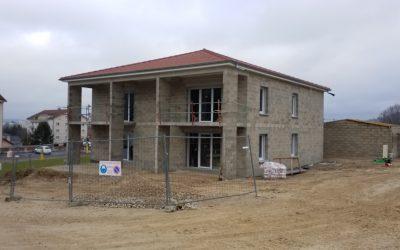 Echenoz-la-Méline : 12 appartements HPE fin 2021
