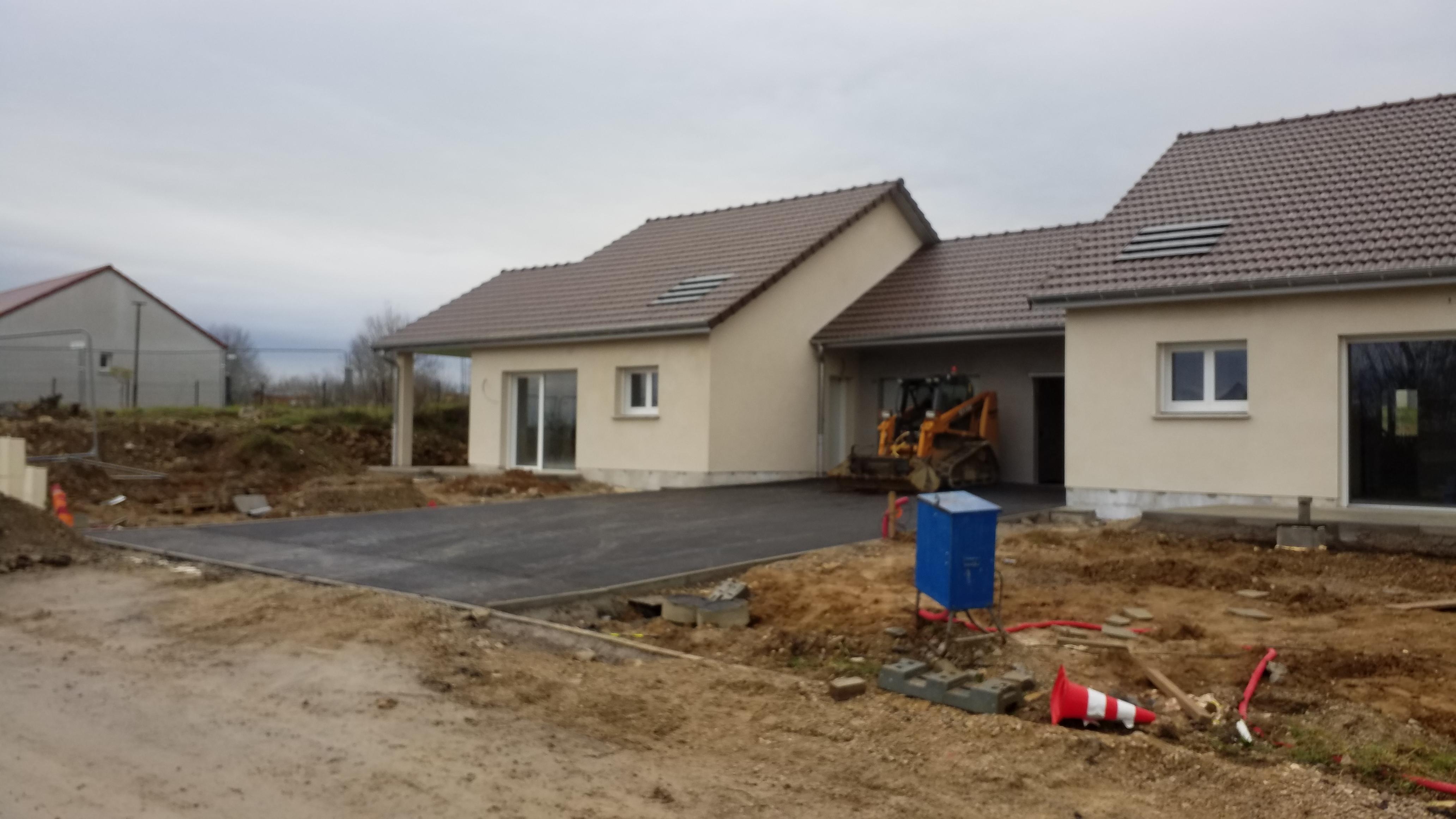 Habitat 70, 4 pavillons à Villersexel