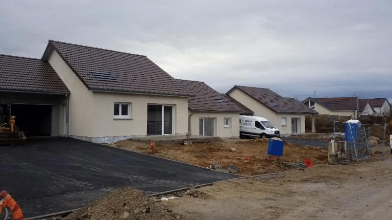 Mise en service de 4 pavillons HPE à Villersexel en mars 2021