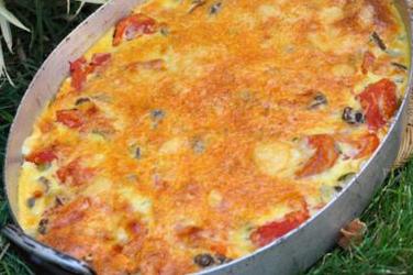 Clafoutis de légumes Méditerranéen