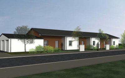 Construction de 6 pavillons Habitat 70 à Luxeuil-les-Bains