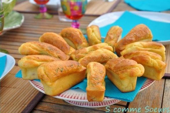 Mini Cakes à la Vache qui Rit® et au Jambon