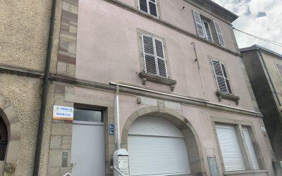 Transformation d'un ancien bureau de poste à Saint-Sauveur (70)